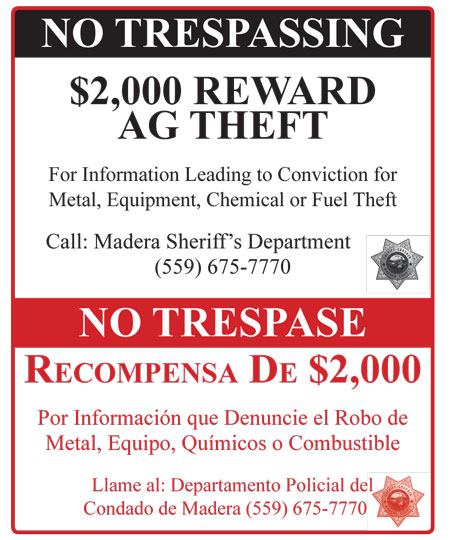 Theft Reward